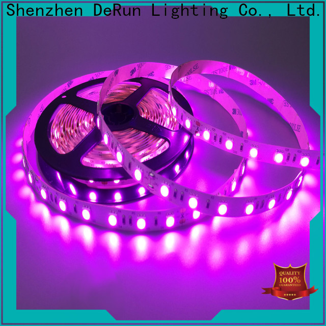 DeRun amber amber led strip certifications for event