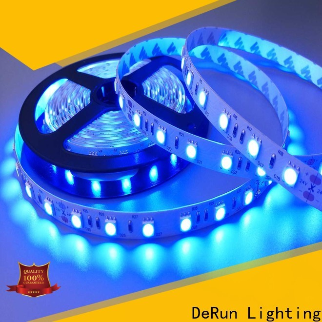 DeRun color amber led strip supplier for party