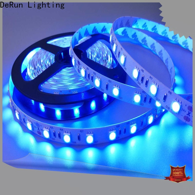 DeRun amber amber led strip widely-use for entry
