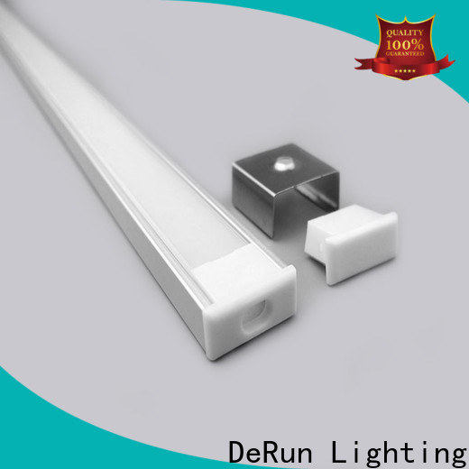DeRun crucial led aluminum channel at discount for cabinet