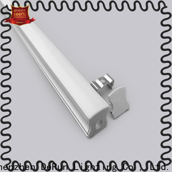 DeRun hot-sale led aluminum channel free quote for office