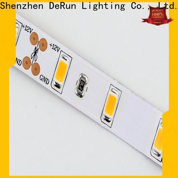 DeRun light color led strip light manufacturer for dining room