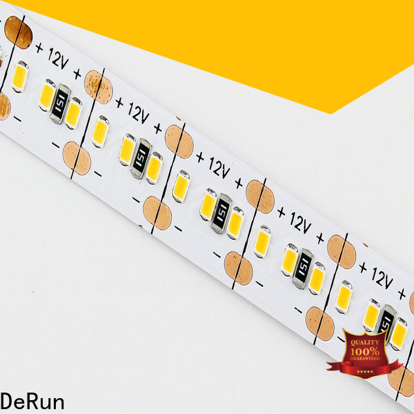 DeRun high efficiency color led strip light supplier for dining room