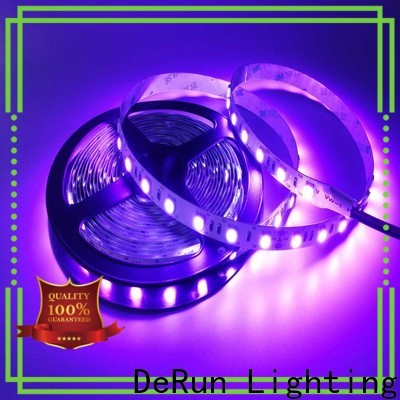 DeRun effective pink led strip light long-term-use