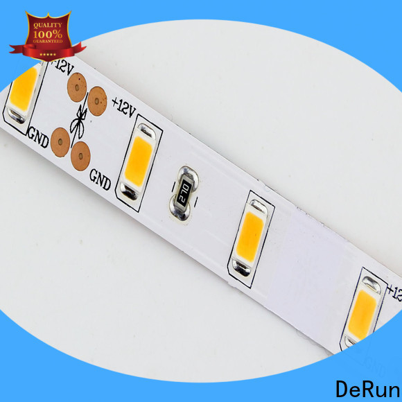 DeRun adjustable coloured led strip lights vendor for office