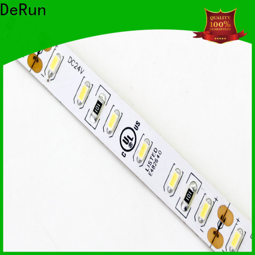 DeRun strip color led strip light  supply for restaurant