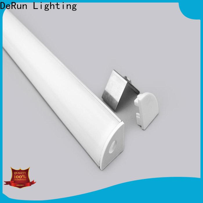 DeRun lightweight led strip diffuser order now for cabinet