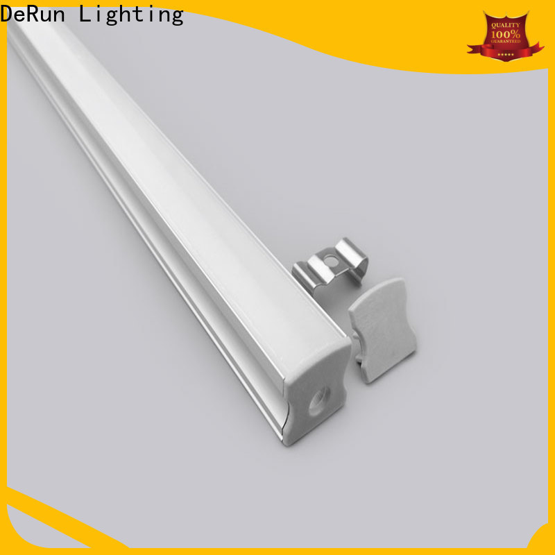 DeRun crucial led aluminum channel factory price for building