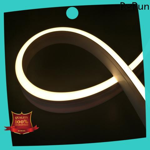 DeRun first-rate neon strip light certifications for bar
