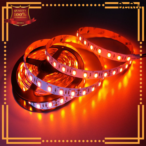 DeRun amber amber led strip certifications for exhibition