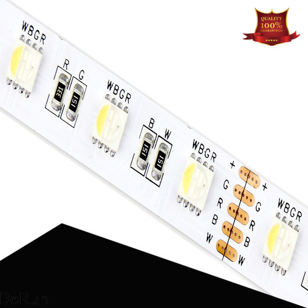 DeRun fine- quality rgbcct led strip certifications for counter