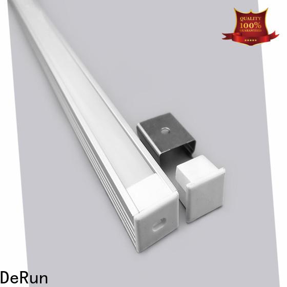 DeRun lightweight led aluminum profile bulk production for office