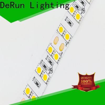 DeRun lifespan coloured led strip lights supplier for foyer