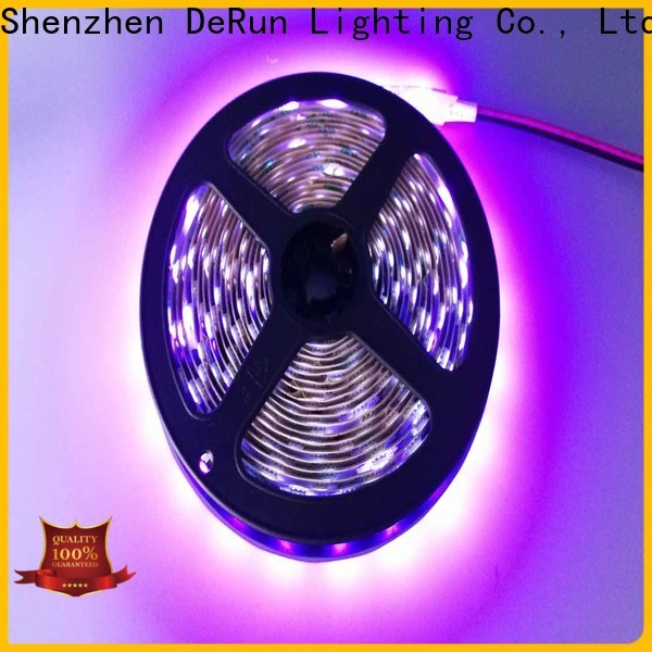 DeRun low cost pink led strip light widely-use for restaurant