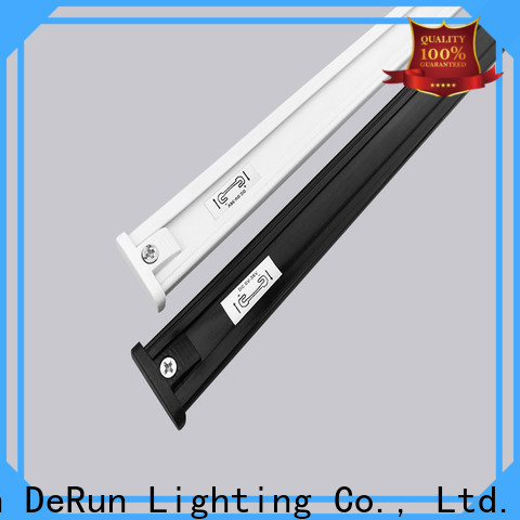 DeRun power led strip light track certifications for party