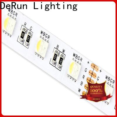 DeRun newly rgb led strip manufacturer for building