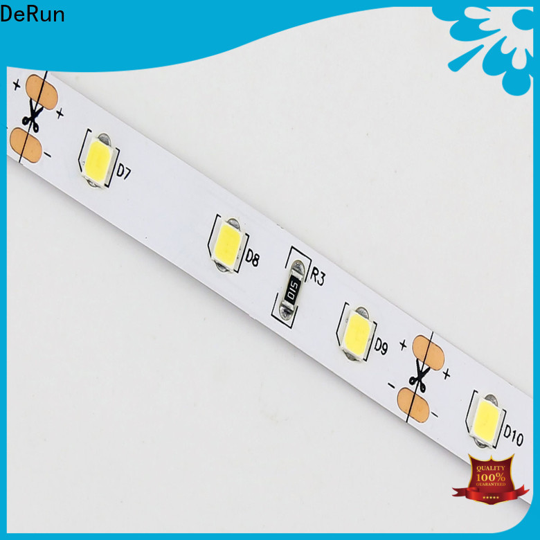 DeRun new-arrival warm led strip lights supplier for dining room