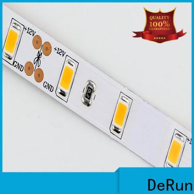 DeRun light warm led strip lights manufacturer for entry