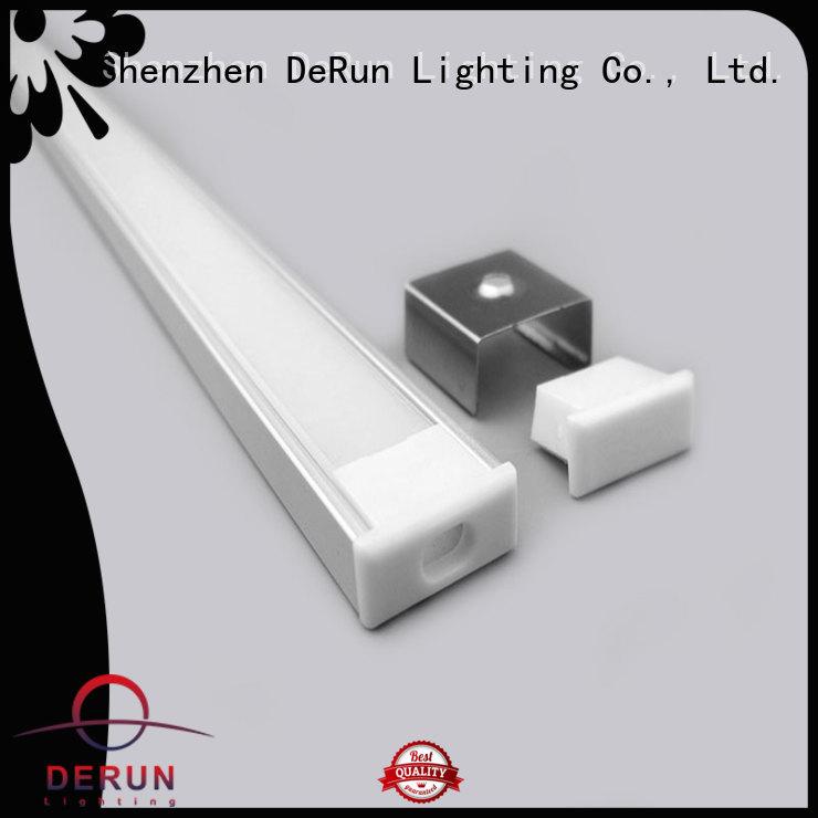 DeRun hot-sale led strip diffuser for cabinet