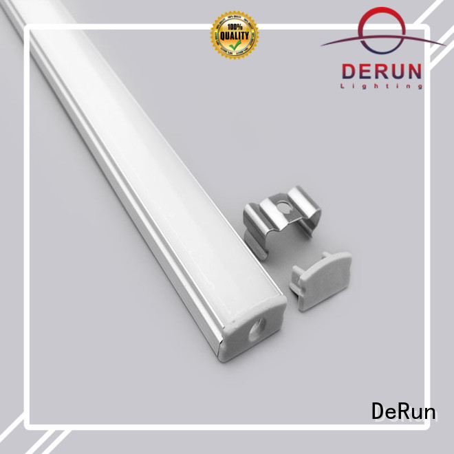 DeRun profiles led strip diffuser from manufacturer for home