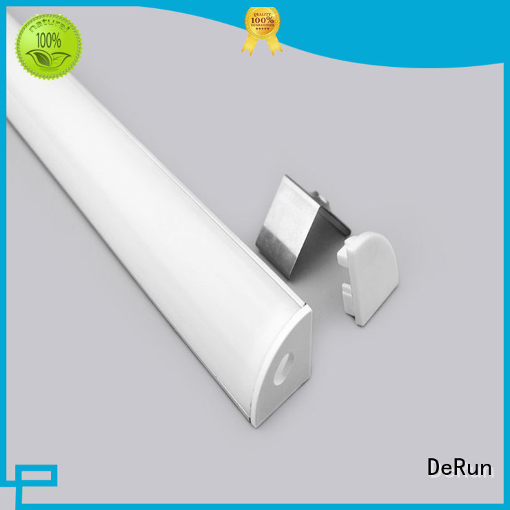 DeRun new-arrival led channel profiles for kitchen island