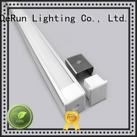 DeRun hot-sale led aluminum channel factory price for kitchen island