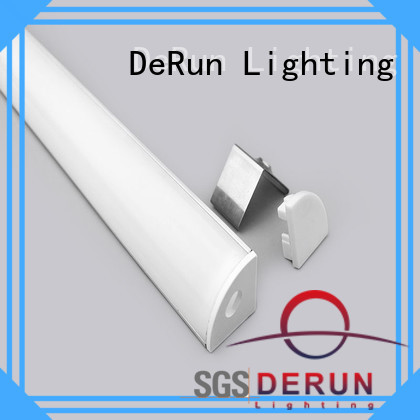 DeRun aluminum profile led at discount for home
