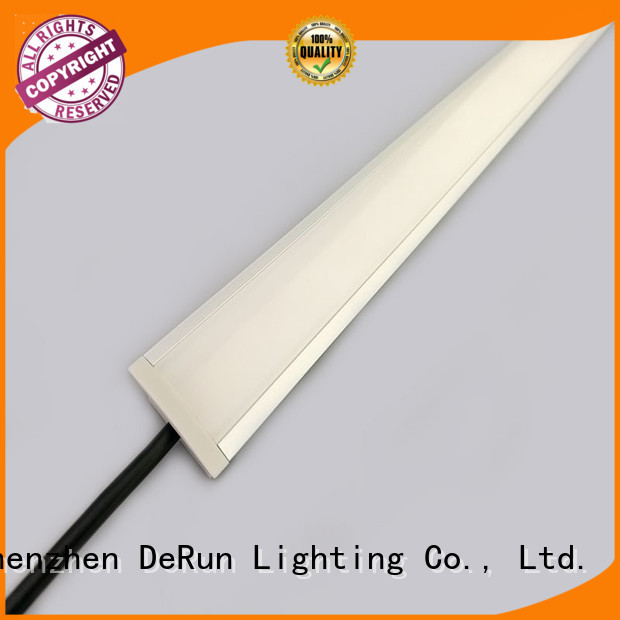 DeRun elegance linear led lighting free design for wedding