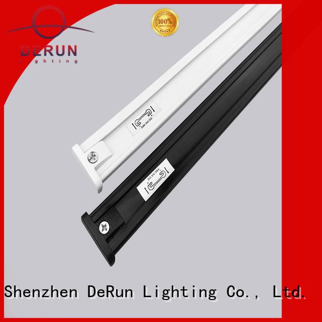 DeRun custom dc power track for entry