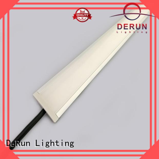 linear led under cabinet lighting dimension for restaurant DeRun