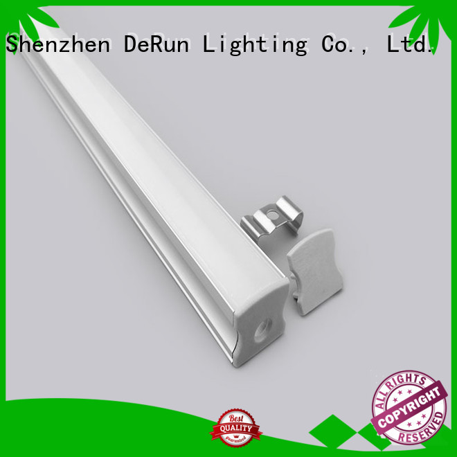 DeRun first-rate led aluminum channel factory price for home