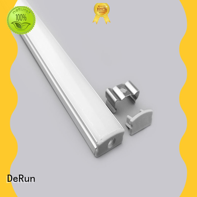 DeRun custom led strip light diffuser design for counter