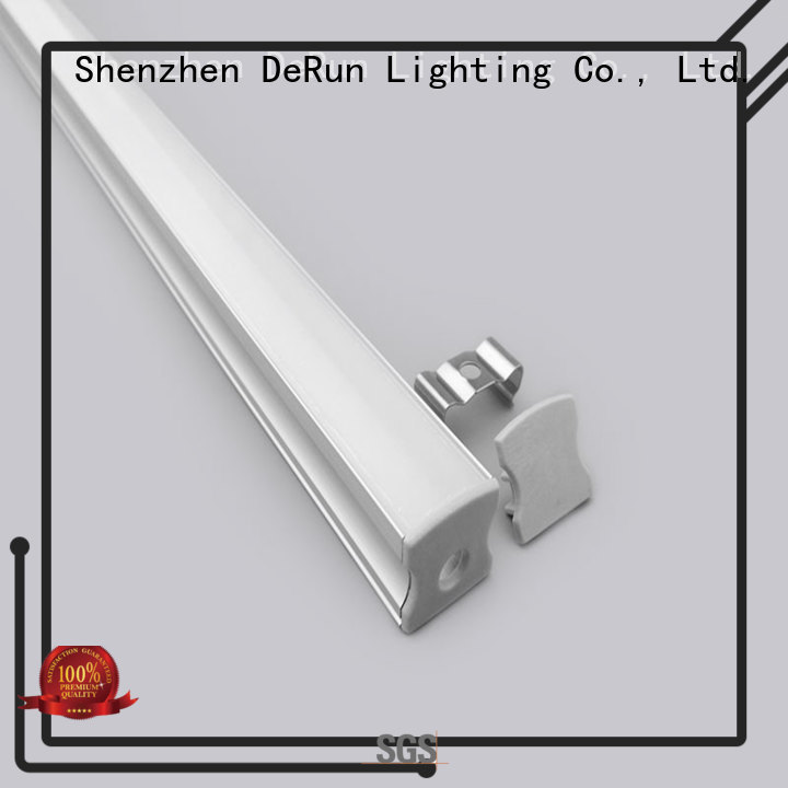 DeRun virtually led extrusion profile order now for cabinet