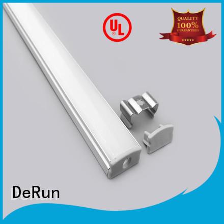 custom led strip diffuser profile bulk production for office