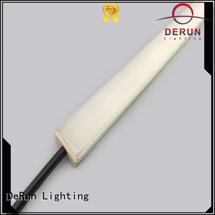 DeRun hot-sale led linear light free design for entry