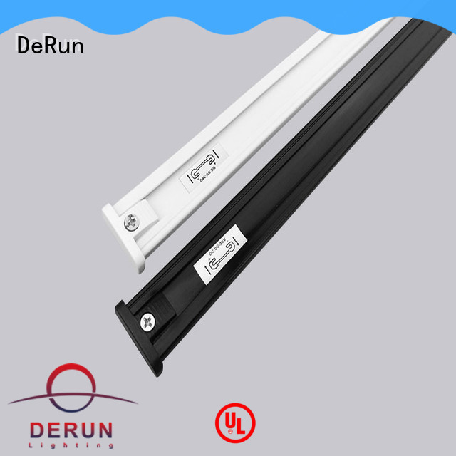DeRun light aluminum track for led strip lighting for event